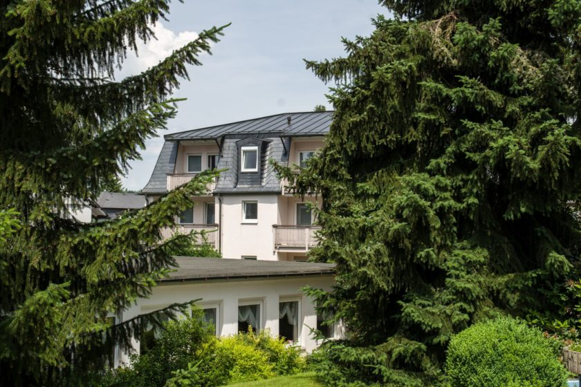 Horns Gästehaus Bad Steben Aussenansicht Neues Haus